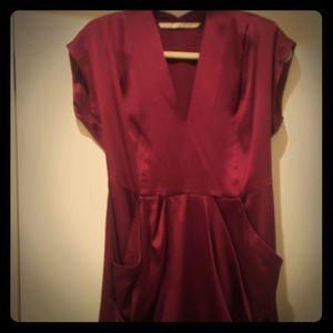 Twelfth Street by Cynthia Vincent magenta dress
